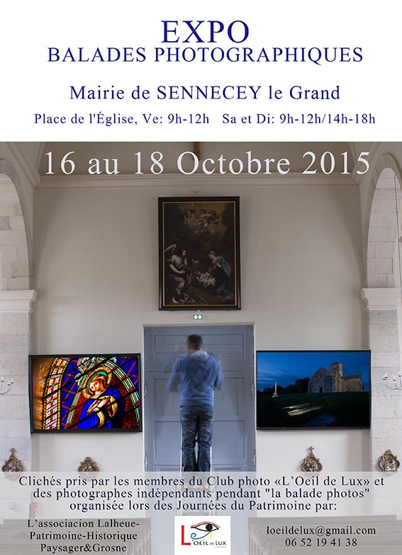 BALADES PHOTOGRAPHIQUES Sennecey2015
