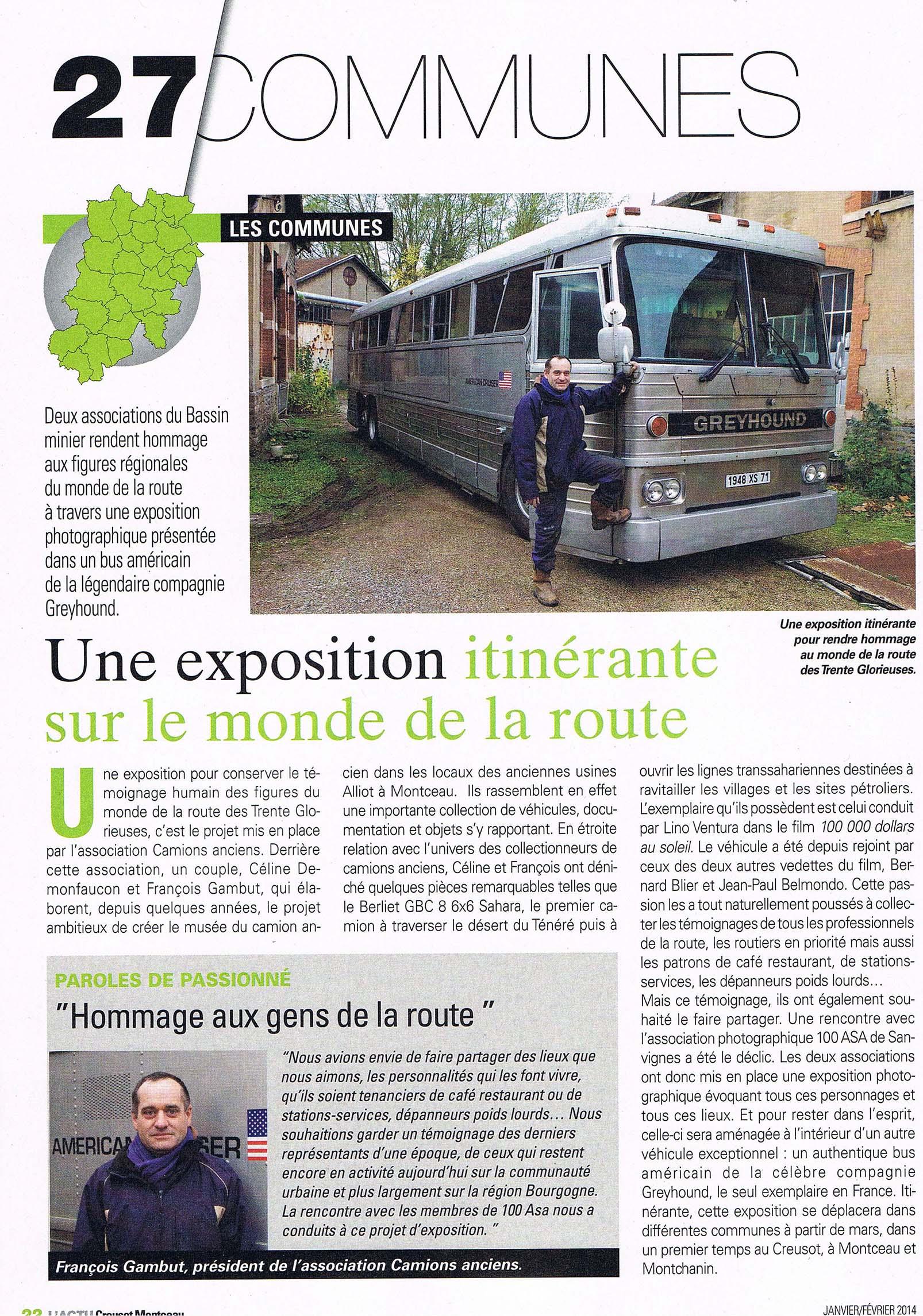 """""""Sur le monde de la route"""" Expo itinérante Camions_anciens"""